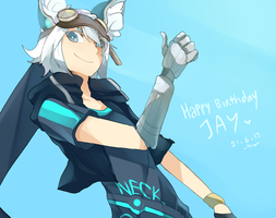 HAPPY BIRTHDAY JAYYYYYY by redricewine