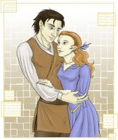 Noonien and Juliana Soong by chiauve