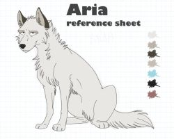 Aria referecne sheet v5 by AriaDog