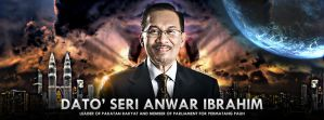 The Leader - Dato' Seri Anwar Ibrahim by rexolution
