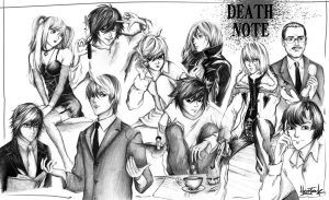 Death Note by HerrJanik