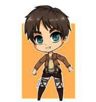 Eren jeager chibi attack on titan by veronica1134