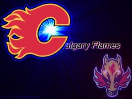 Calgary Flames Simple by FailingZen