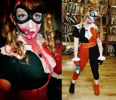 Zombie Harley Quinn by pixi996