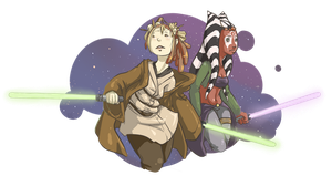 Star Wars: Yime and Aniles by ElfSama
