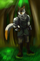 (PC) Forest Walk with Wolf Instincts by Arenthor