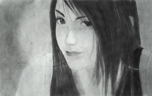 Tifa Lockhart Drawing-Final Fantasy 7 by EtaniaVII