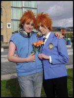 Ouran high school Twins by angelic-cat15