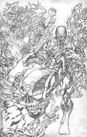 HAUNT VS. page 3 pencils by ejimenez
