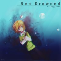 Ben Drowned-Water Blood. by EndlessVirus