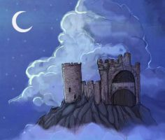 Castle in the Clouds by Professor-R