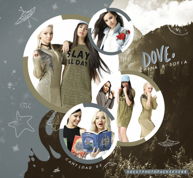 Photopack 26818 - Dove, China and Sofia by xbestphotopackseverr