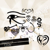 Tattoo PNG Pack. by Axopholice