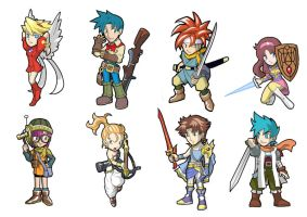 Game Heroes pack 11: Classic RPG by Fandias