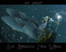 She Spreads Her Wings by crimsonmansion