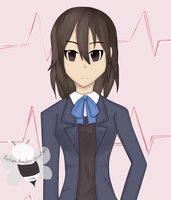 Himeko From Kokoro Connect (Art Trade) by Reborn-Honeybee