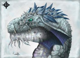 Ice Dragon. by Himeviti