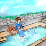 Foot Onsen by WendySakana