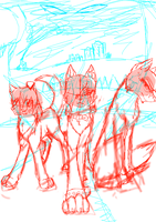 Unnamed comic cover WIP by Wiktoria00