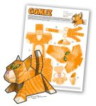 Papercraft Kitty - Gomez by smhill