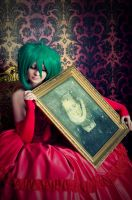 Ranka with a portrait by prince-alexiel