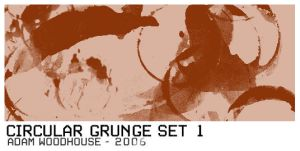 Circular Grunge Brush Set 1 by ardcor