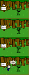 Creeper Hunting (Everyday life in Minecraft) by BoboMagroto