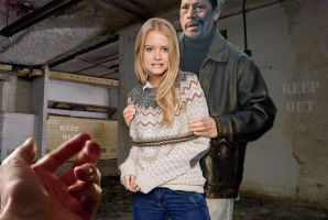 Lucy is caught trespassing by ReefUK