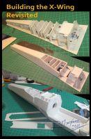 Building the X-Wing by Hikaru84