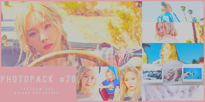 #70 PHOTOPACK-TaeYeon by vul3m3