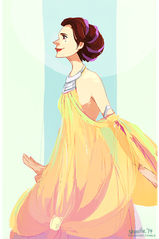 star wars - padme's lake dress by shorelle