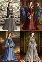 Sansa's life stages by SingerofIceandFire