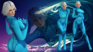 Zero suit Christie by DragonLord720