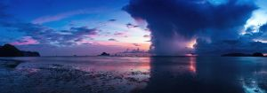 Thailand, Krabi, sunset by fly10