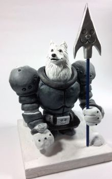Greater Dog Statue by tripled153