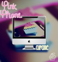 Wallpaper Pink Phone Cupcake| Ale! by AleColorfulEditions