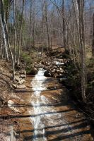Bromley Mountain Waterfall by funygirl38