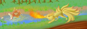 Would You piss of a ninetails? by gothYvonne