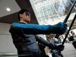 Nightwing Cosplay Pic 4 NYCC 2012 by DKANG0316