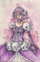 Skull lolita by Bloodysfish