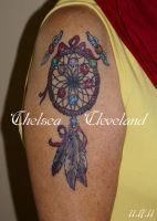 Healed - Mothers Ring Dreamcatcher by SmilinPirateTattoo