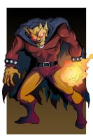 E is for Etrigan by MachSabre