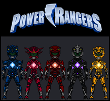 Power Rangers by theherocreator
