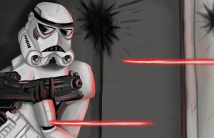 Stormtroopers last moments by Kona-Ann