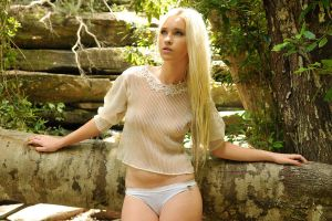 Kahli - sheer cream top 6 by wildplaces