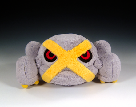 Shiny Metagross by caffwin