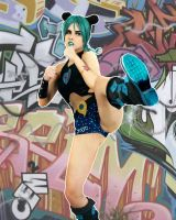 Jolyne Vol. 13 cosplay 01 by AlinaJames