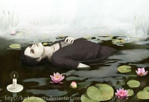 Itachi's death : Lotuses by KarlaFrazetty