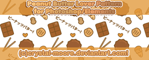 Peanut Butter Lover Pattern by CNM by Crystal-Moore