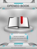 Opened Book Icon by Tooschee